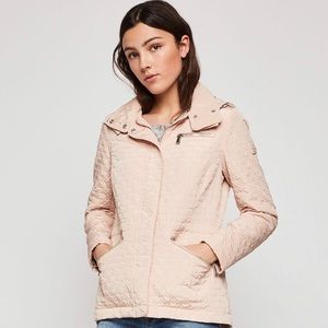 ❤️BCBG❤️ Hooded Quilted Anorak Jacket